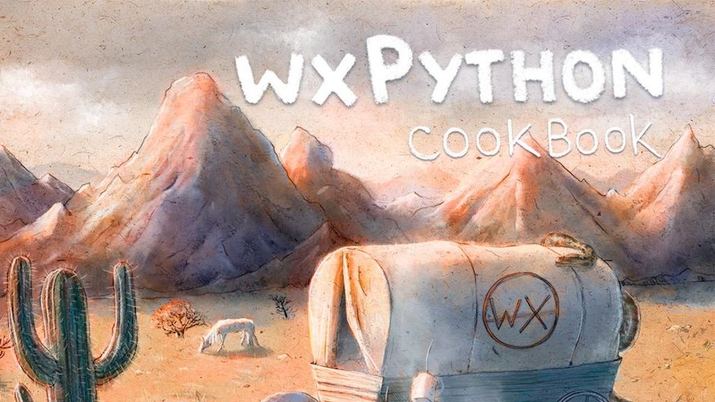 wxPython Cookbook project video thumbnail
