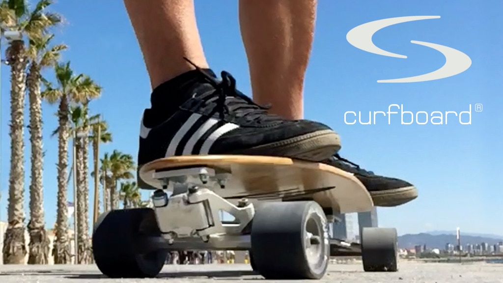 curfboard ® - the ultimate surfskate truck for skateboards! project video thumbnail