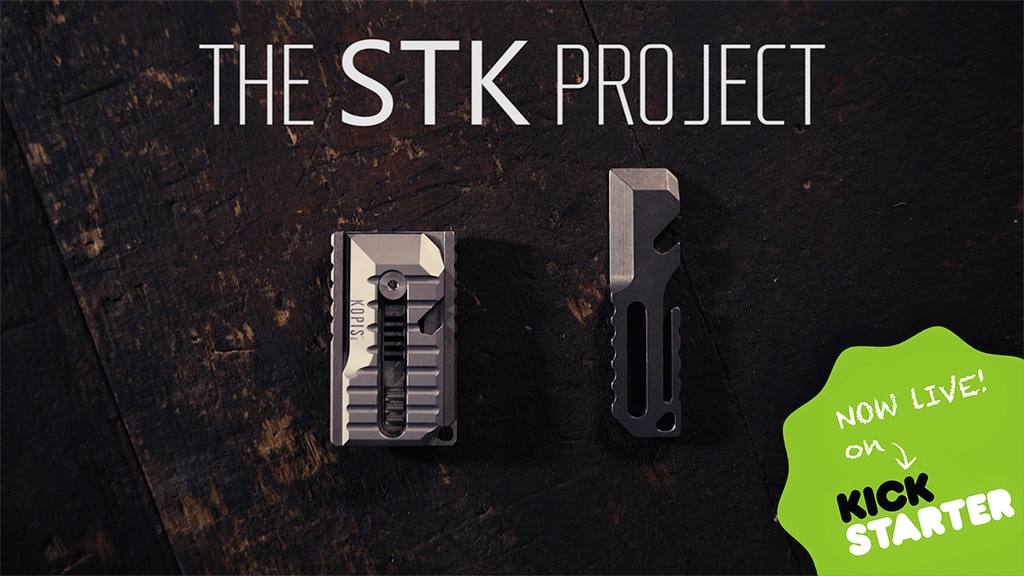 The STK Multi-Tool: Sliding Tool & Knife for Every Day Carry project video thumbnail
