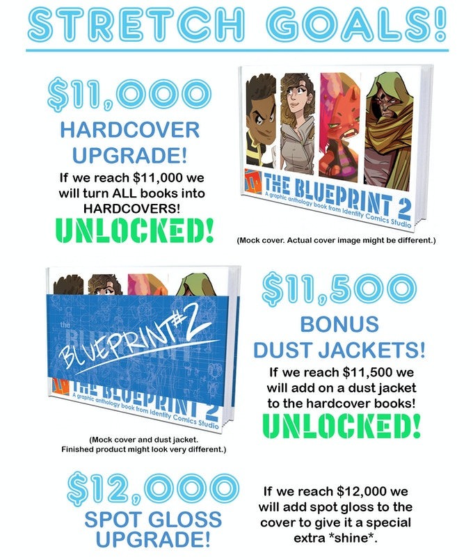 The blueprint 2 by identity comics studio kickstarter we consider ourselves extremely fortunate to even consider stretch goals thank you to each and every person that have supported our campaign malvernweather Choice Image