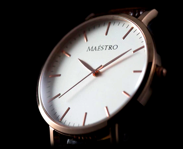 Miss our campaign? Order now on the Maéstro Watch Co. website below!