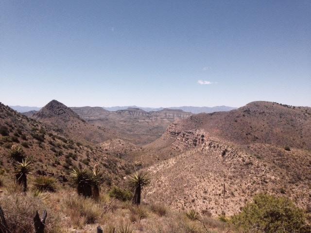 Cañón de Pinto Cerca Marfa, Tejas