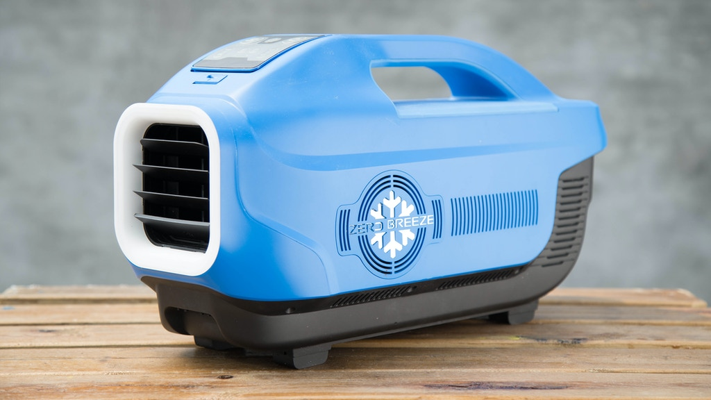 Zero Breeze - The World's Coolest Portable Air Conditioner project video thumbnail