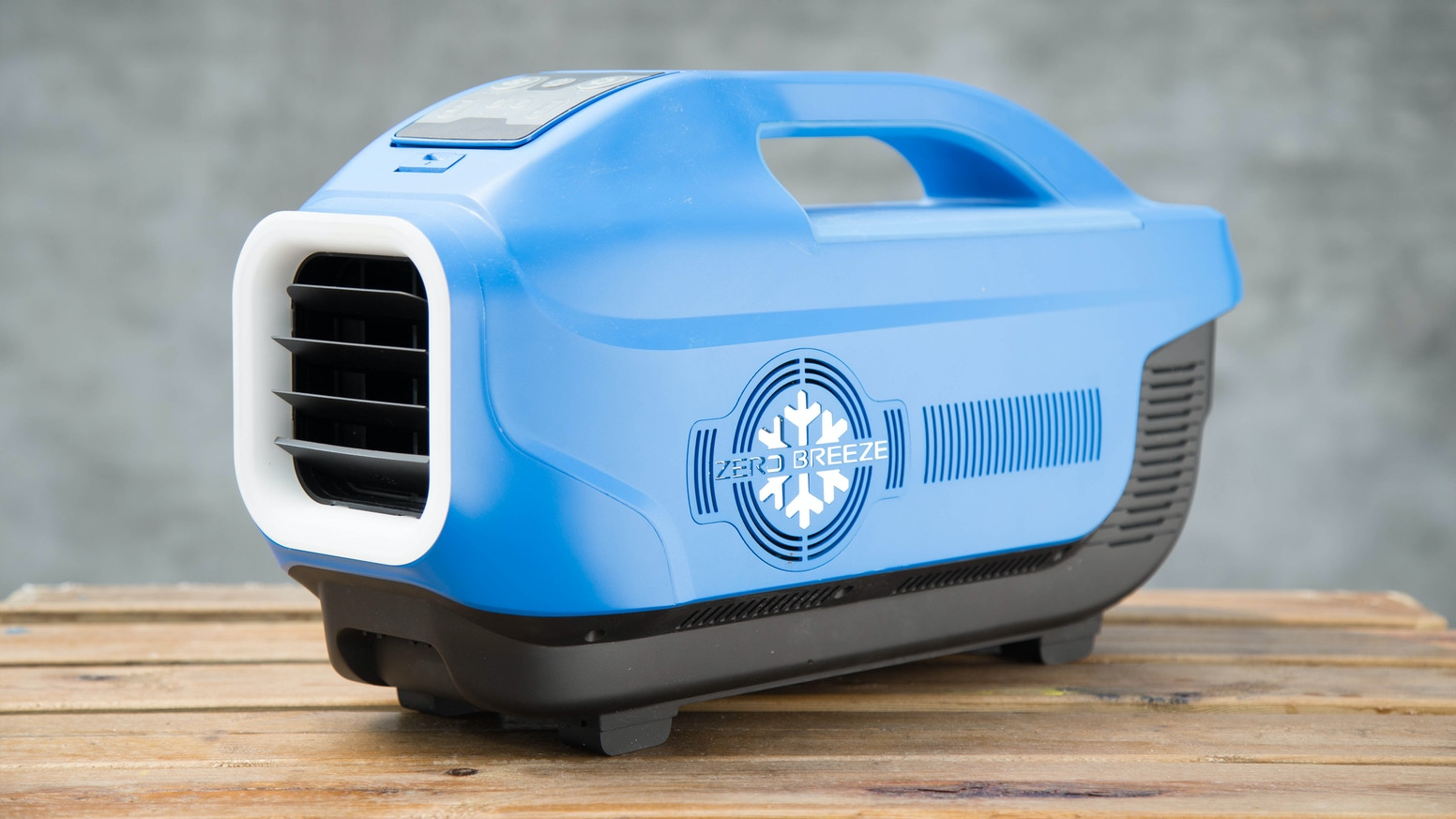 Coolest Portable Air Conditioner by Zero Breeze —Kickstarter #1F70AC