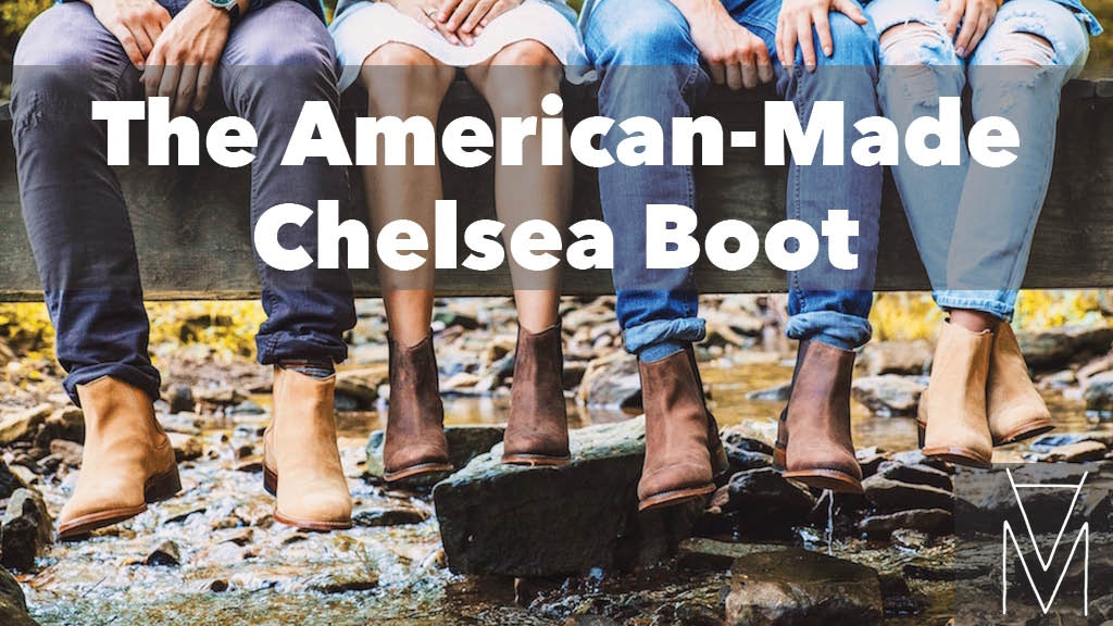 The American-Made Chelsea Boot by Mark Albert project video thumbnail