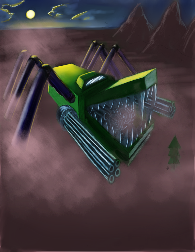 Spidergator Thresher