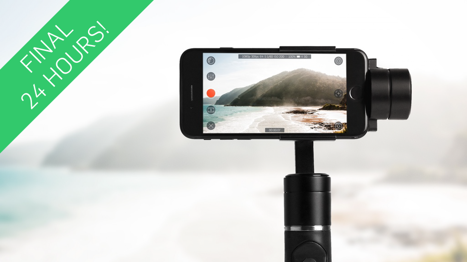 FlowMotion ONE - Capture smooth cinematic videos with your smartphone. Auto-follow tracking, motion time-lapse, and so much more.