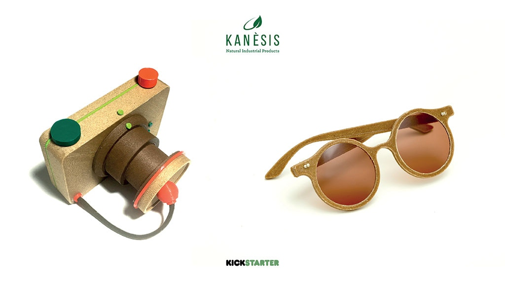 The exclusive 3d printed Pinhole and Sunglasses! Using Hemp project video thumbnail