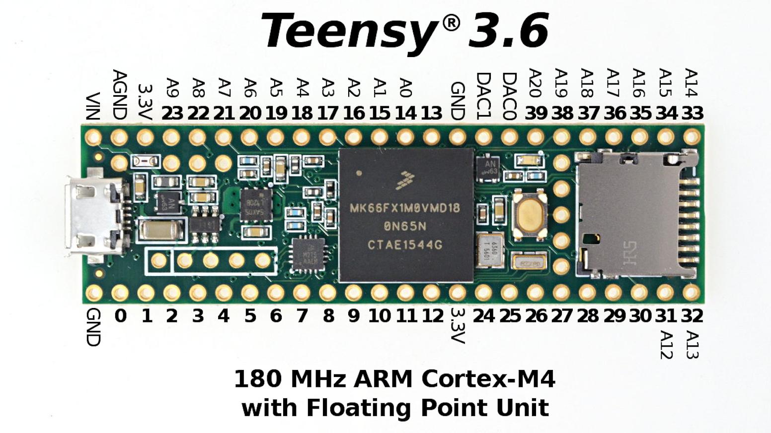 Teensy 3.5 & 3.6 by Paul Stoffregen — Kickstarter