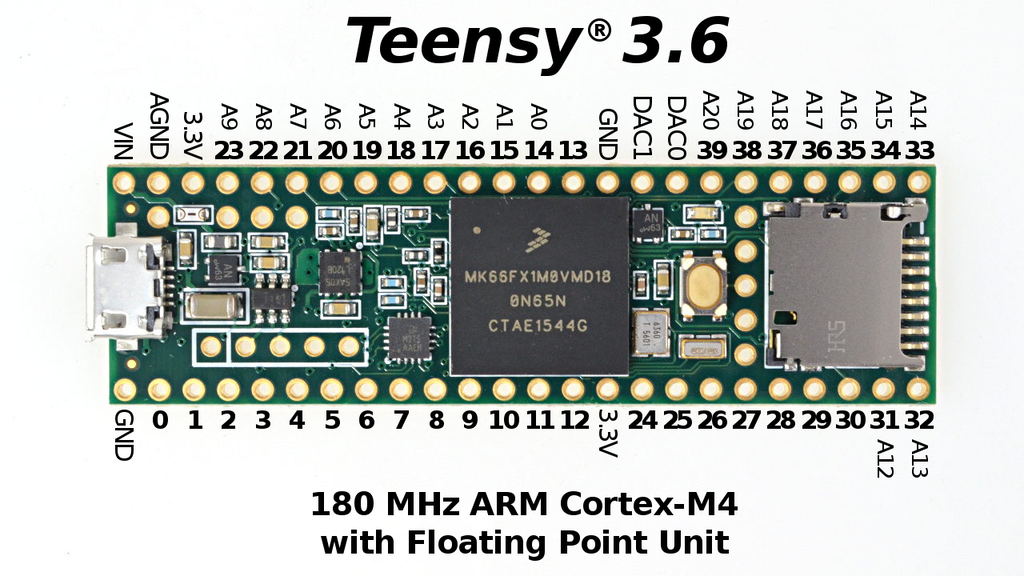 Teensy 3.5 & 3.6 project video thumbnail