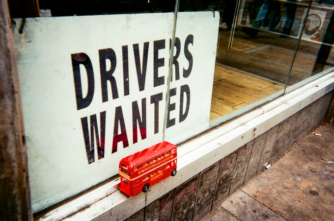 April 2017 in MyLondon calendar: Drivers wanted by Richard Fletcher