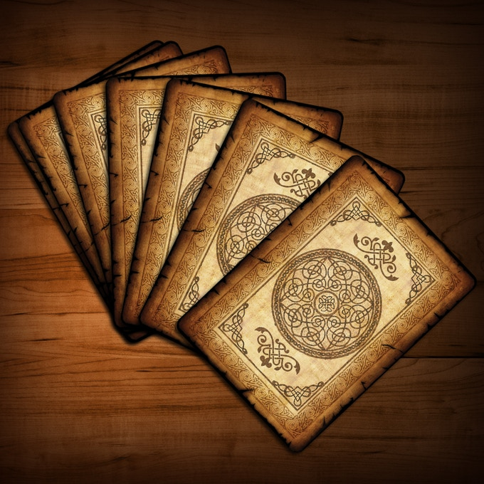 bicycle old parchment playing cardscollectable playing
