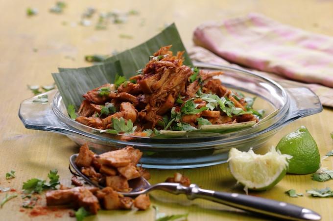 Hong Shao Rou: spicy roasted jackfruit