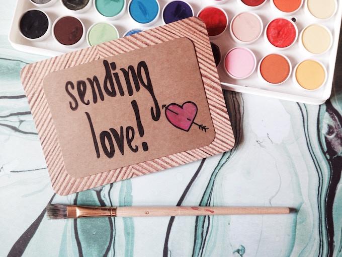 OPTION B : sending love