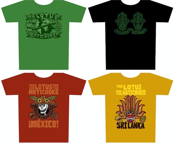T-Shirts from the 2015 Kickstarter