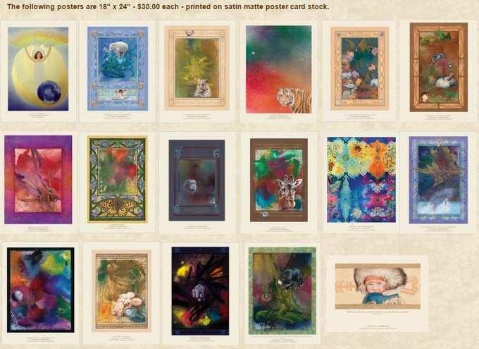 """18"""" x 24"""" Rama Exhibition Posters"""