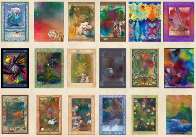 Giclee Collection - See individually on website by clicking the photo