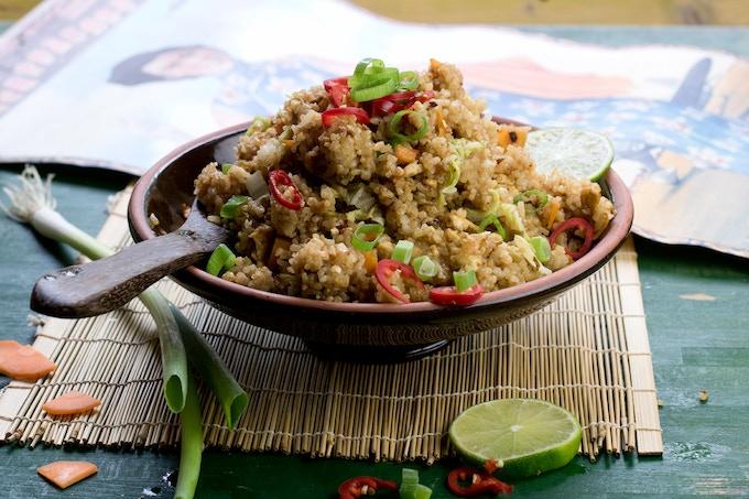 Nasi Goreng: traditional fried rice