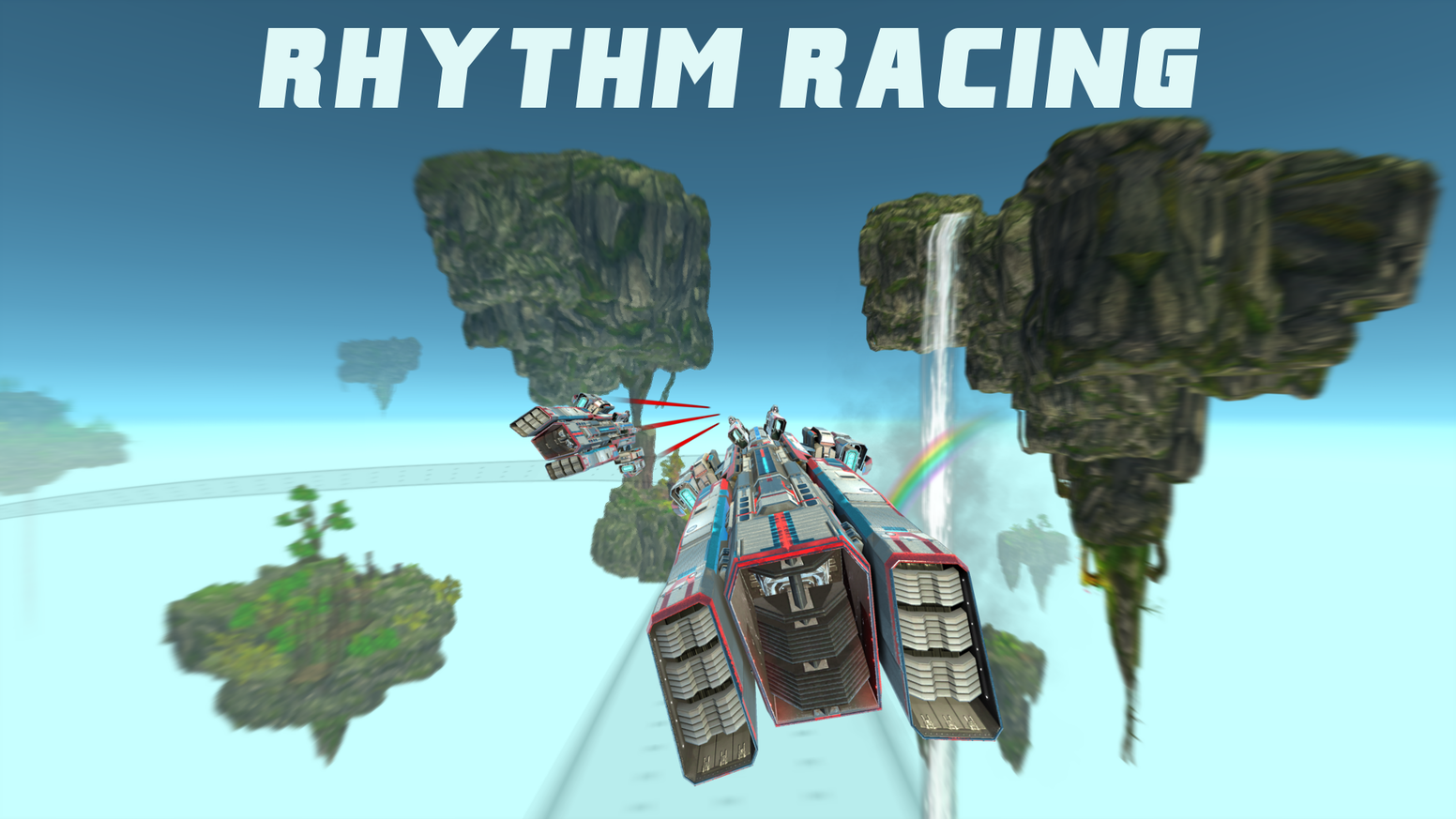 Fly through fantastical futuristic worlds in time to the music in this unique blend of Rhythm and Racing games