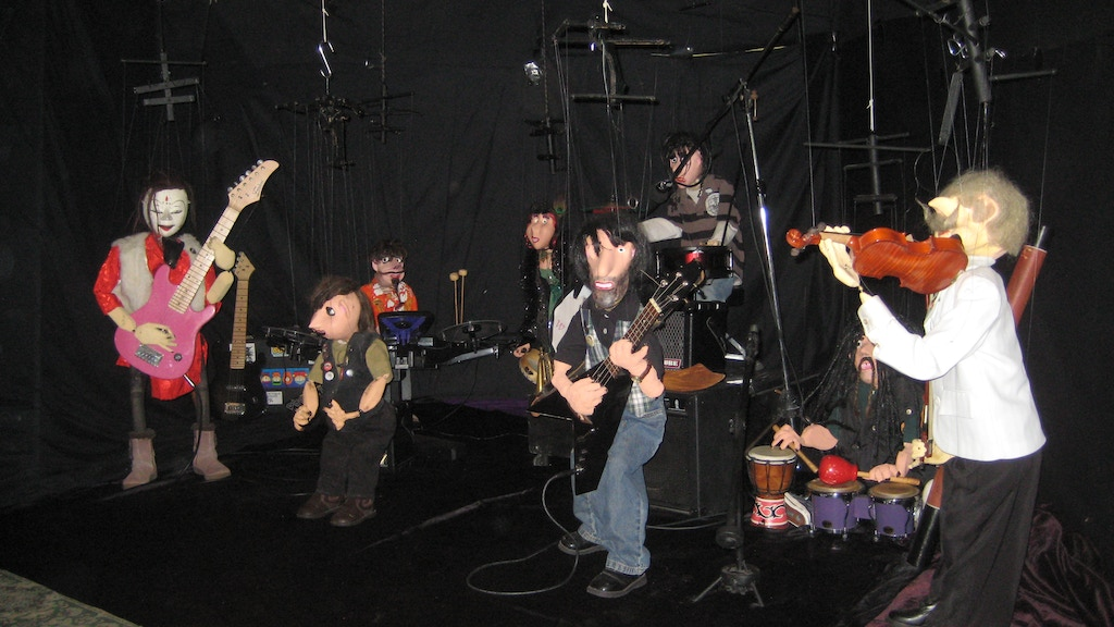 Project image for Travelling Marionette Band and Artists