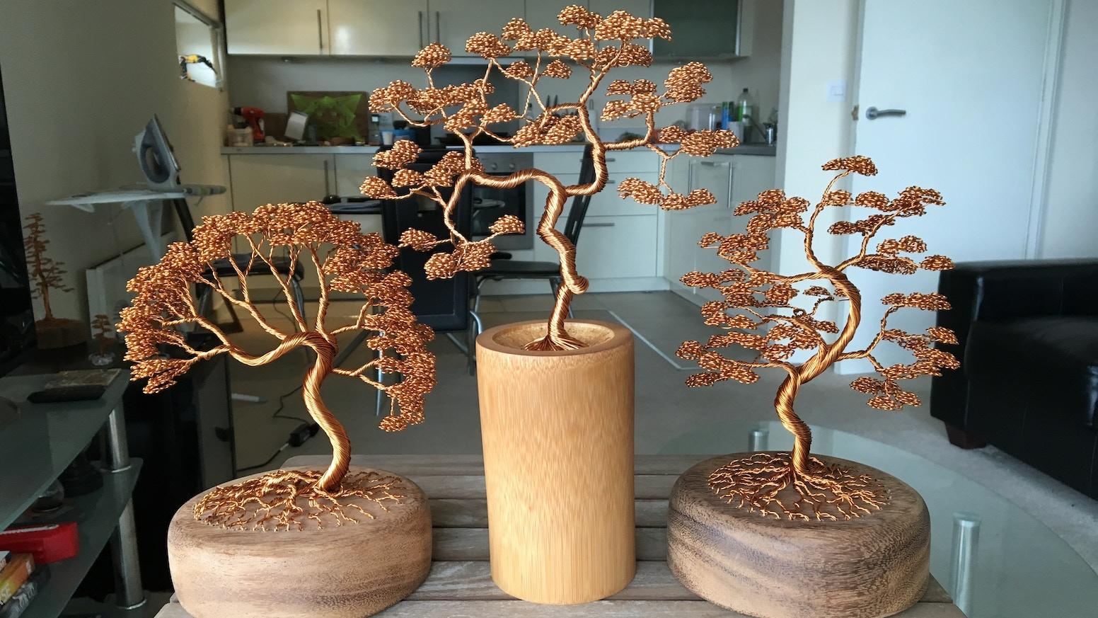 Wire Tree Sculptures By Andy Elliott by Andy Elliott — Kickstarter