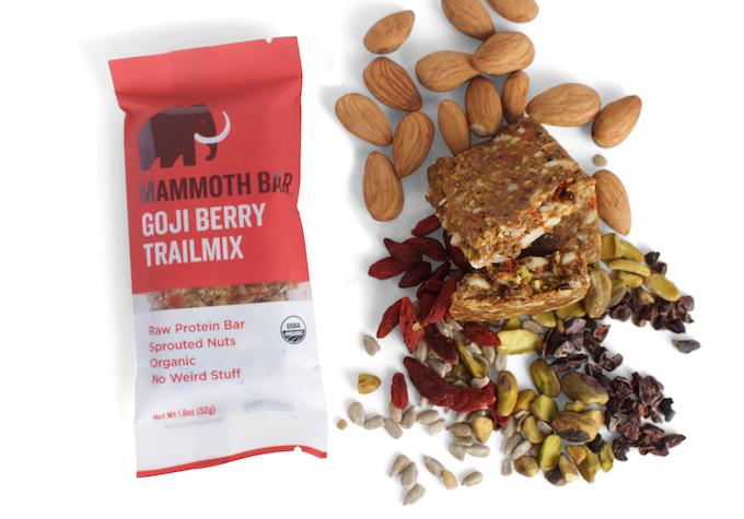 Ingredients: Almonds, Sunflower Seeds, Dates, Egg White Protein, Goji Berries, Pistachios, Cacao Nibs, Baobab Fruit, Vitamin E (Antioxidant), Sea Salt.