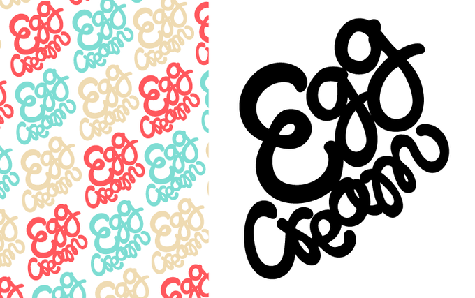 Logo for Egg Creme (not final)