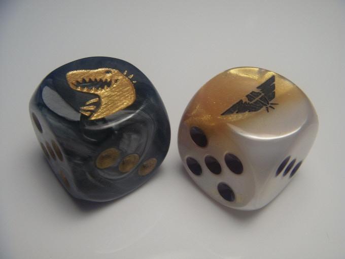 Kaiju and Mecha Dice!
