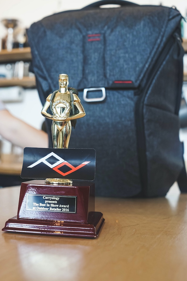 The Outdoor Retailer Best In Show award from Carryology, a.k.a. the exact  opposite of
