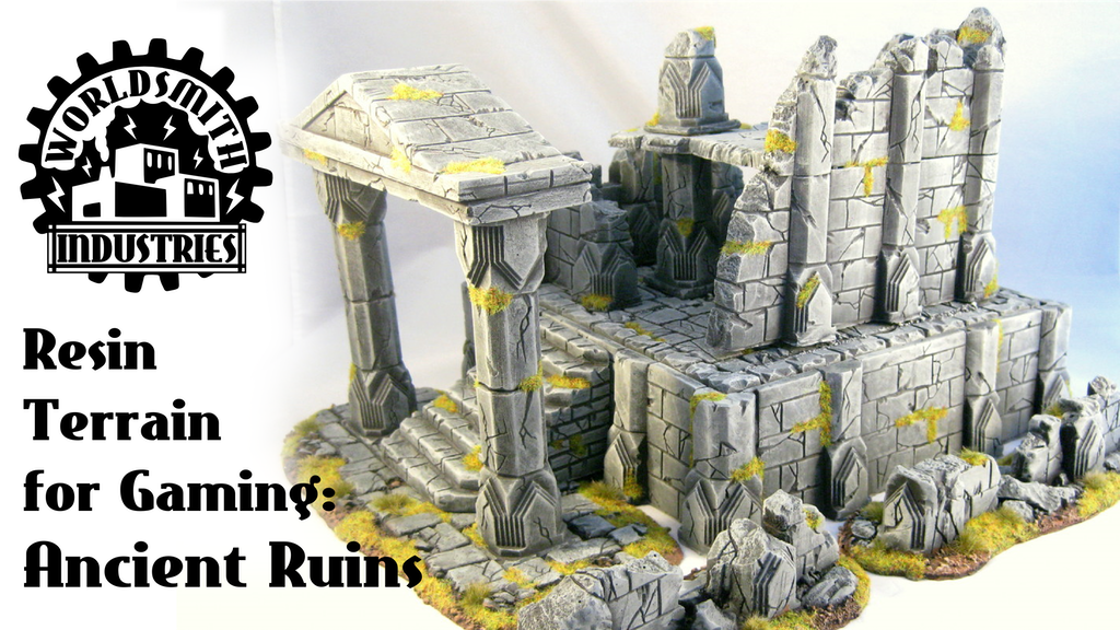 Resin Wargaming Scenery and Terrain: Ancient Ruins project video thumbnail