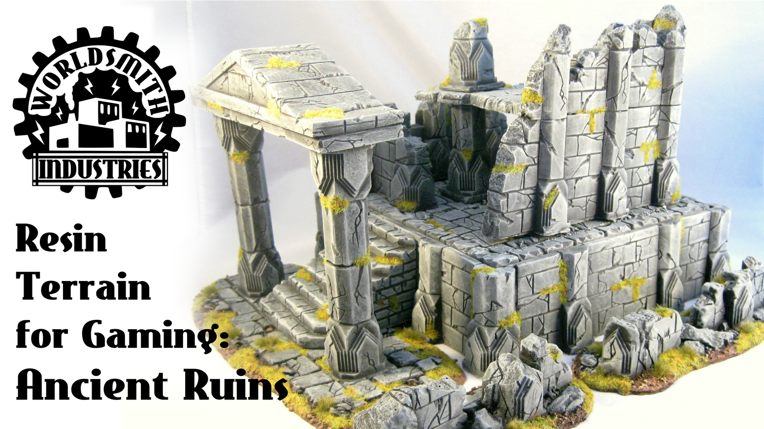 Resin Wargaming Scenery and Terrain: Ancient Ruins by