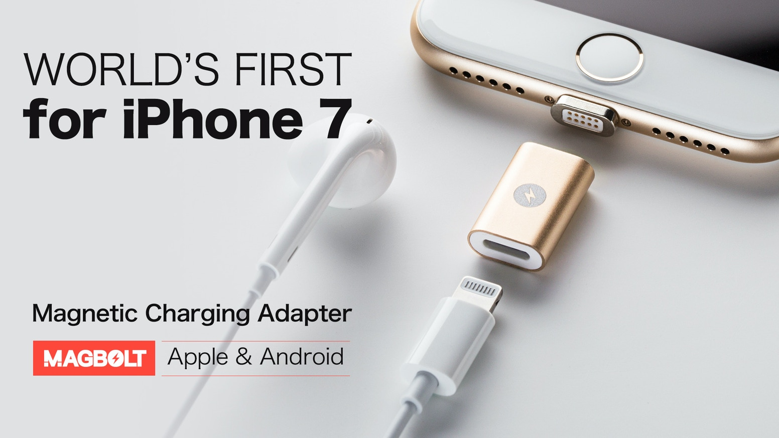 Magbolt Worlds 1st Magnetic Connector For Iphone 7android By Charger Wire Diagram 2 In 1 Android Devices The First