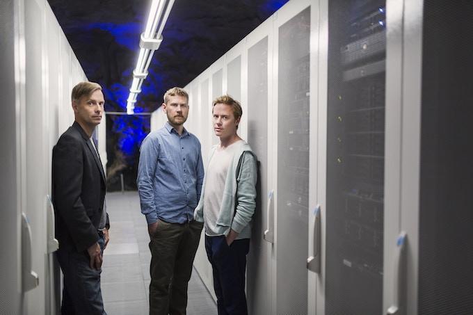 Peter Bergting, Tor Moström and Johan Wendt
