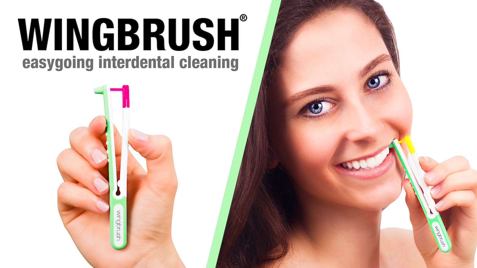 Easygoing interdental cleaning! Thanks to its smart feeler technology, you intuitively find your interdental spaces.