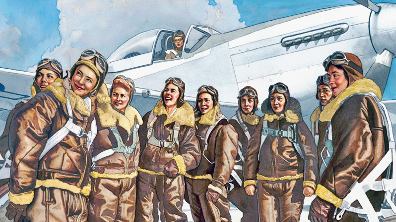 Help us inspire young people with the story of America's first female military pilots.