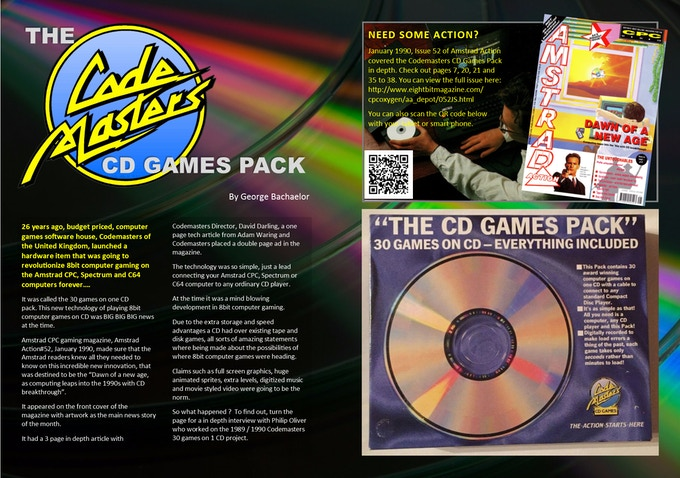 Codemasters 30 games on 1 CD