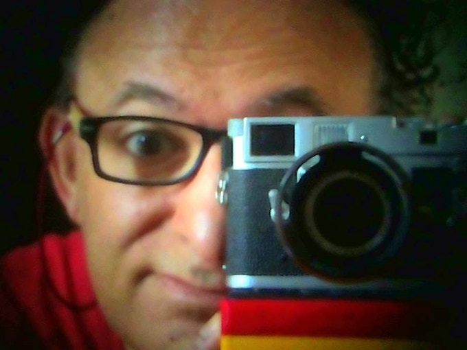 Selfie by Leica M2 and I'm Back™ case