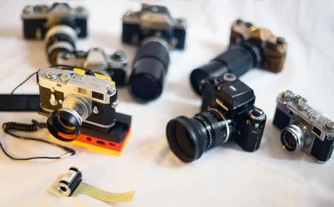 Cameras Nikon, Pentax, olympus, Leica and more...