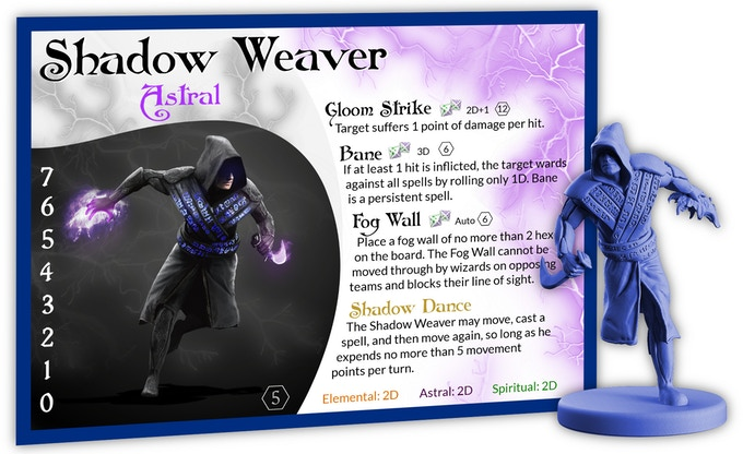 The Shadow Weaver wards equally well against all power sources.