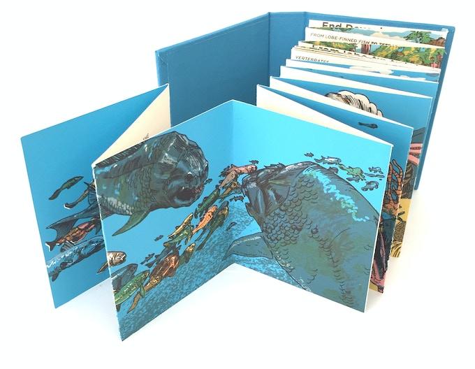 """The Devonian"" silkscreened book"