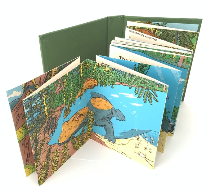 """The Carboniferous"" silkscreened book"