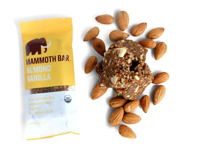 Ingredients: Almonds, Dates, Egg White Protein, Vanilla Beans, Baobab Fruit, Vitamin E (Antioxidant), Sea Salt.