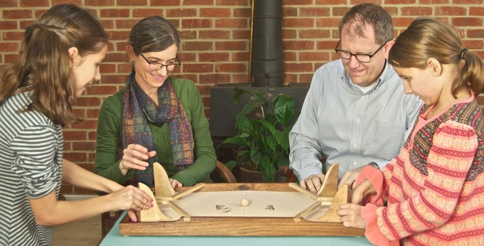 Rollet The Fast Rolling Ricochet Game By David Harvey Kickstarter Custom Rollet Wooden Game
