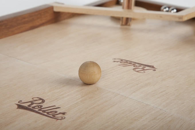 Rollet The Fast Rolling Ricochet Game By David Harvey Kickstarter Extraordinary Rollet Wooden Game
