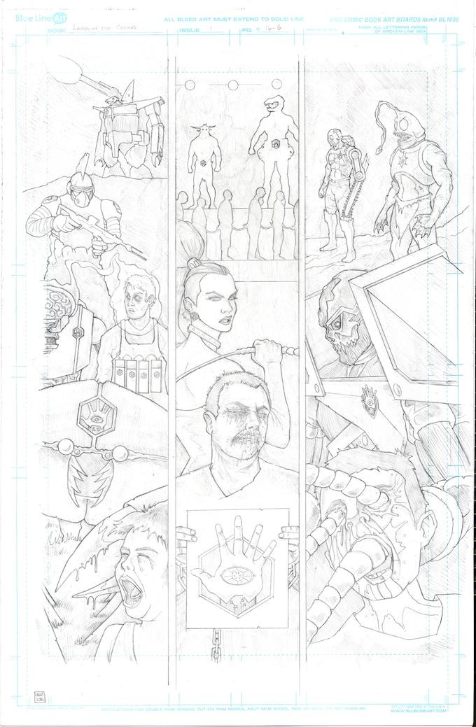 Issue #2 (pencils)