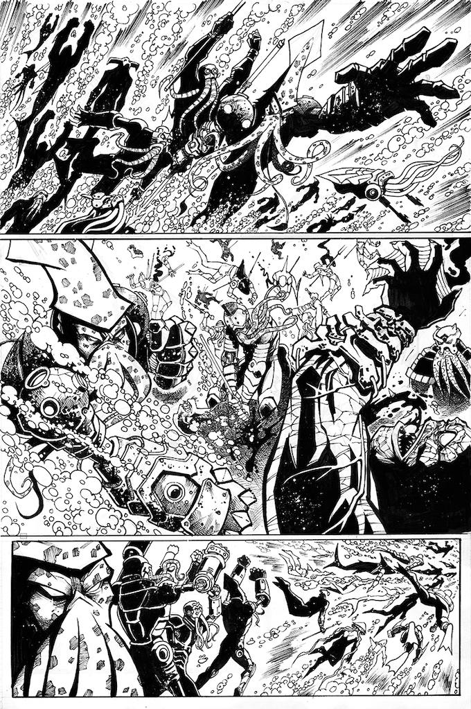 "Tentakill battles Shredtooth in ""Tales of the Nightsea"""