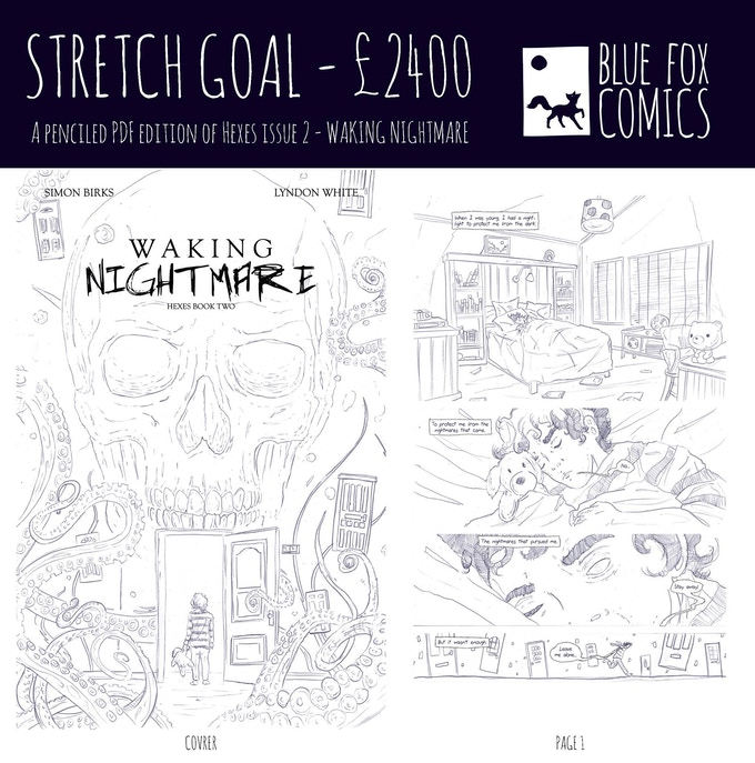 Stretch Goal 2 - Pencil Only PDF of Issue 2