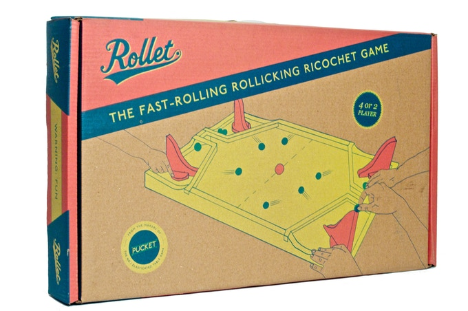 Rollet The Fast Rolling Ricochet Game By David Harvey Kickstarter Impressive Rollet Wooden Game