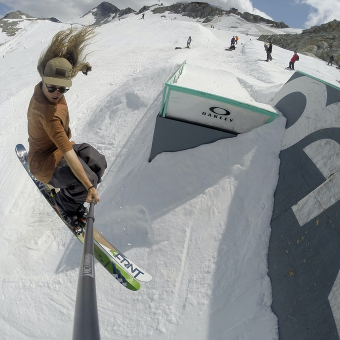 Jarred Martin impact and durability testing at The Camp of Champions Summer Ski Camp