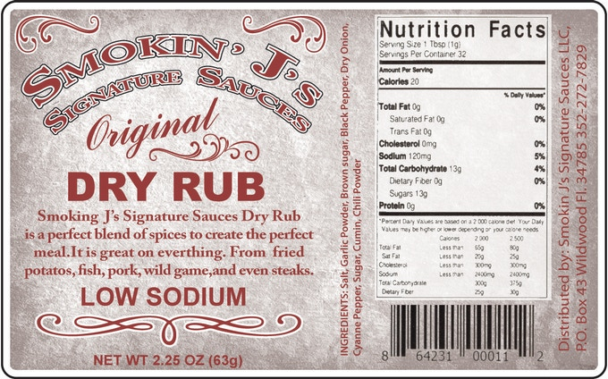 Smokin J's Signature Sauces And Dry Rubs by Smokin J's Signature
